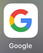 Google アプリを開く